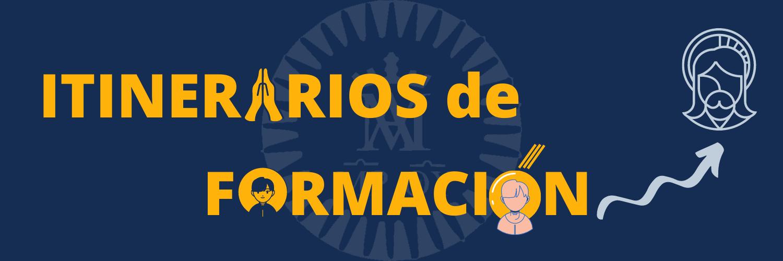 Itinerarios de formación banner